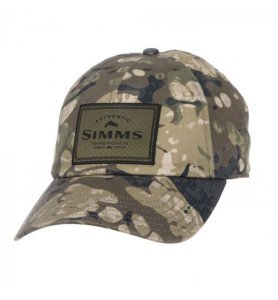 Simms Single Haul Cap Riparian Camo
