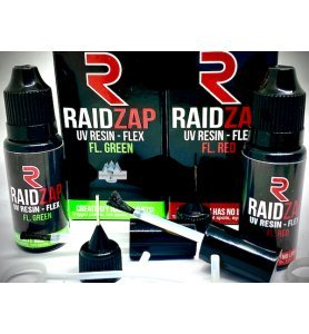 RAIDZAP UV Resin Flex Fluo