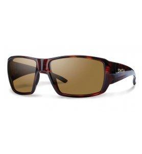 Smith Optics Guide's Choice Techlite polarized glass lenses Brown