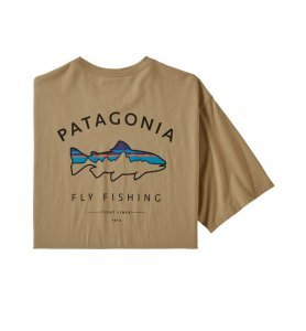 Patagonia Men's Framed Fitz Roy Trout Organic Cotton T-Shirt CSC