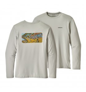 Patagonia Men's Graphic Tech Fish Tee (EOBT)