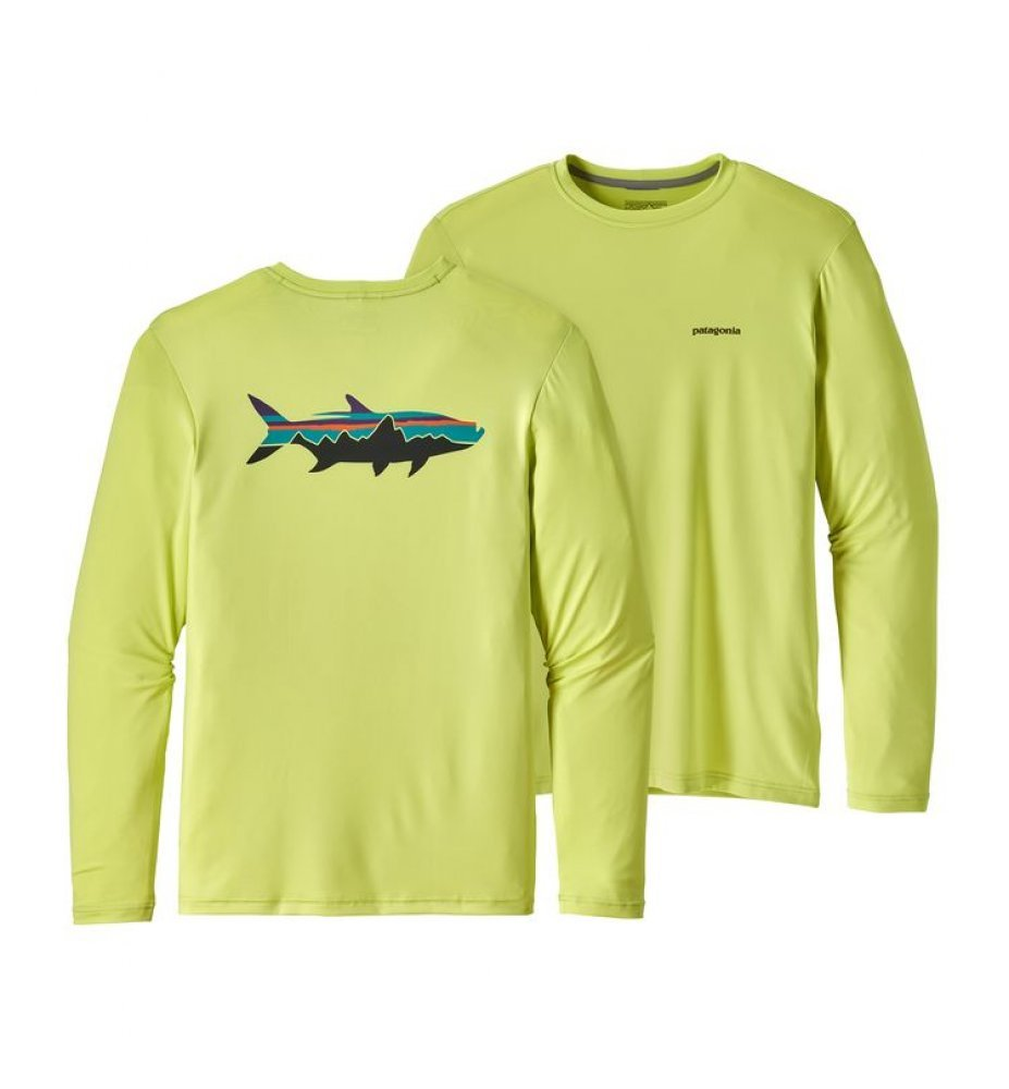 Patagonia Men's Graphic Tech Fish Tee (FRCE)