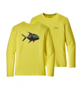 Patagonia Men's Graphic Tech Fish Tee (FRSY)