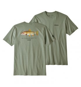 Patagonia Men's Greenback Cutthroat World Trout Responsibili-Tee®