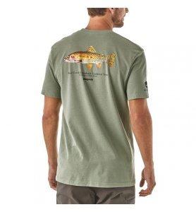 Patagonia Men's Greenback Cutthroat World Trout Responsibili-Tee®