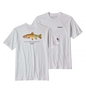 Patagonia Men's Greenback Cutthroat World Trout Responsibili-Tee® (white)