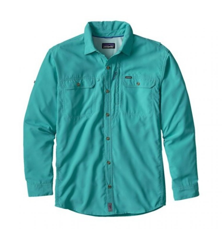 Patagonia Men's Long-Sleeved Sol Patrol™ II Shirt (HWLT)