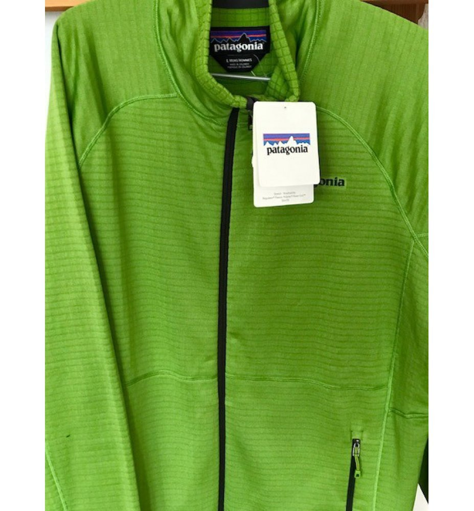 Patagonia R1 Full Zip (Supply Green)
