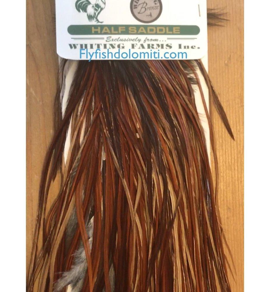 Whiting 1/2 Spalla Bronze Medium Brown
