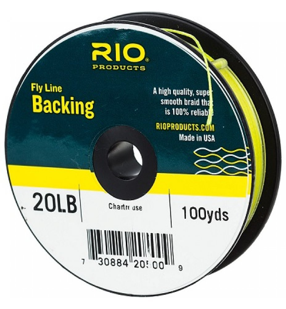 Rio Fly Line Backing 20lb - 100yds