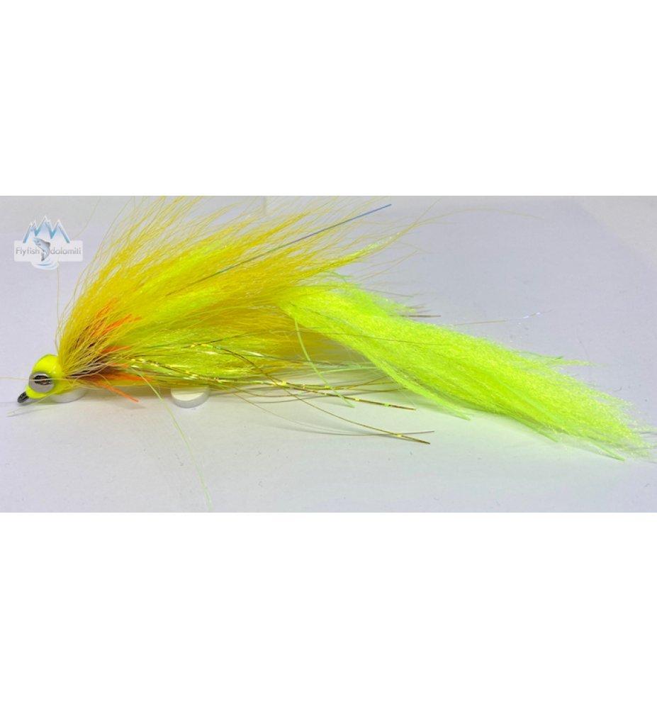Pike Yellow Clouser 2.0 Heavy