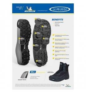 Vision Musta Michelin Boots