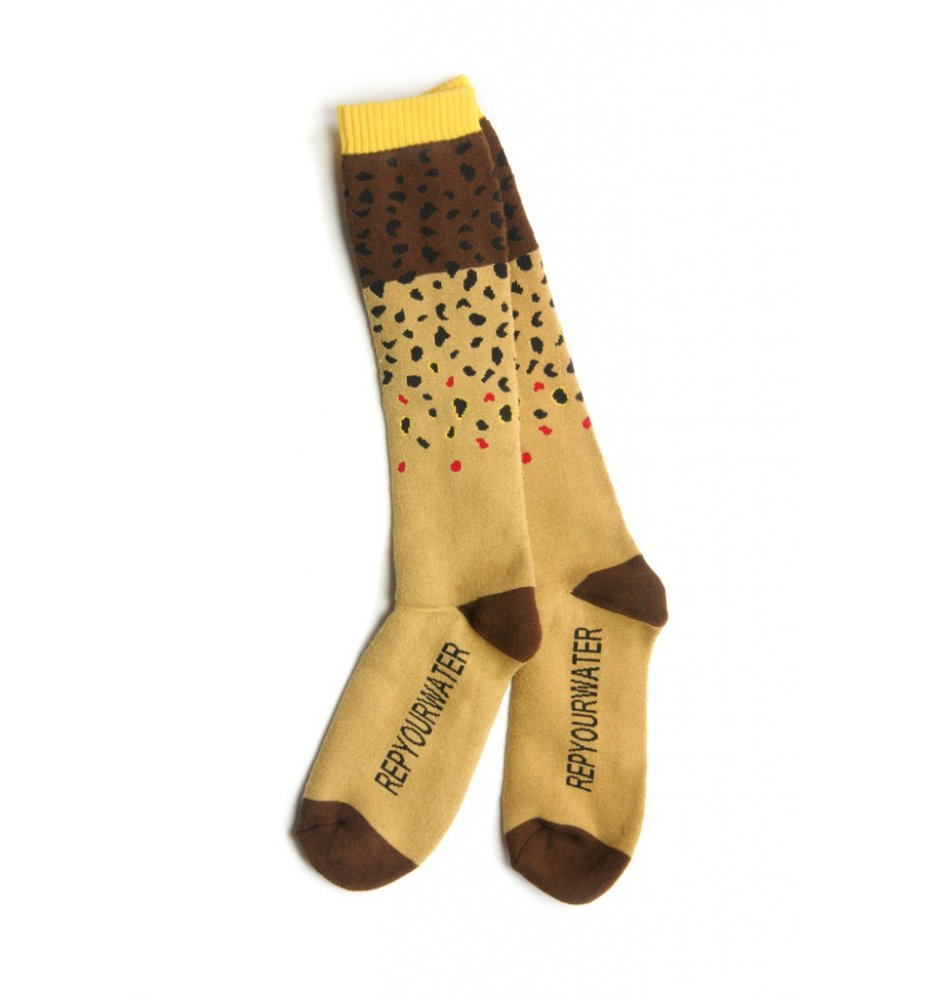 Trout Socks Brown Trout