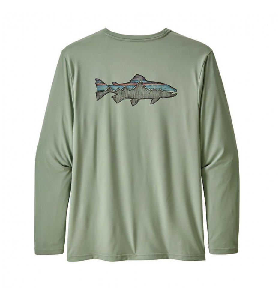 Patagonia Long-Sleeved Daily Tech Fish Tee  SRCE