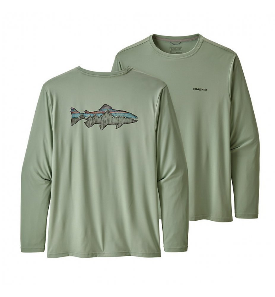 Patagonia Long-Sleeved Daily Tech Fish Tee  SRCE