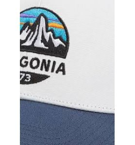 Patagonia Fitz Roy Scope LoPro Trucker Hat (WHI)