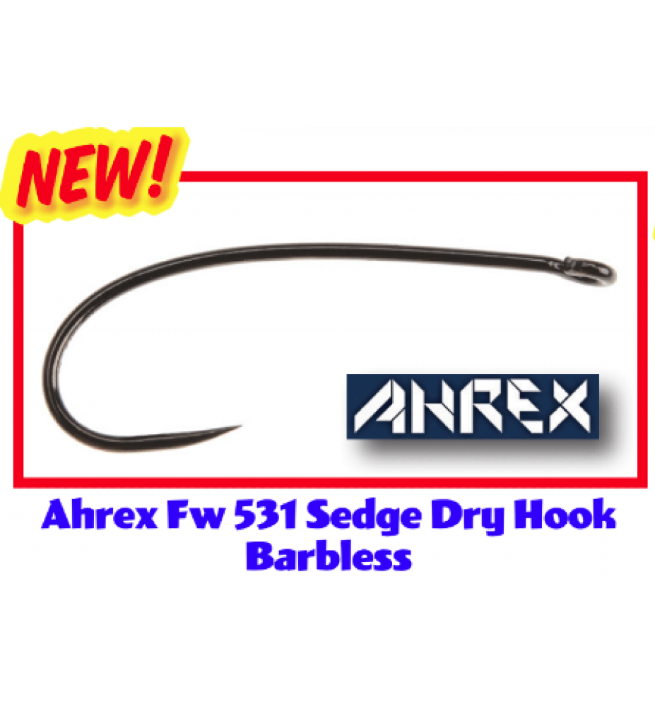 Ahrex FW531 Sedge Dry Amo Barbless
