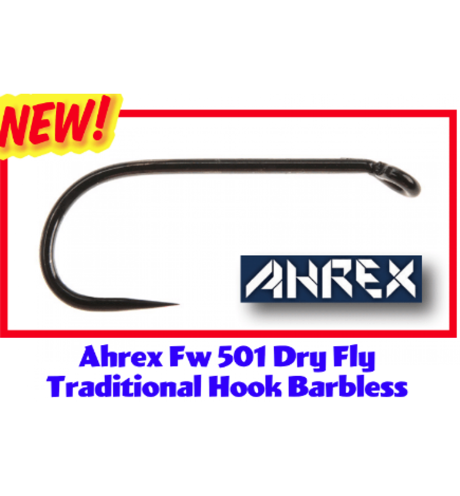 Ahrex FW501 Dry Fly Traditional Barbless