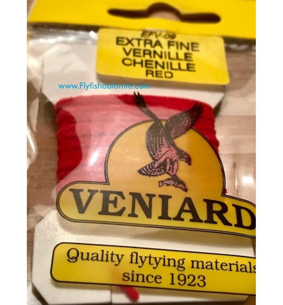 Ciniglia Veniard Vernille extra fine red