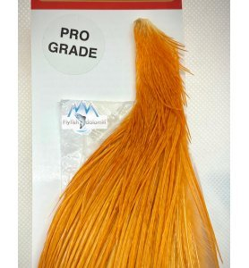 Whiting 1/2 Cape White dyed Golden Brown