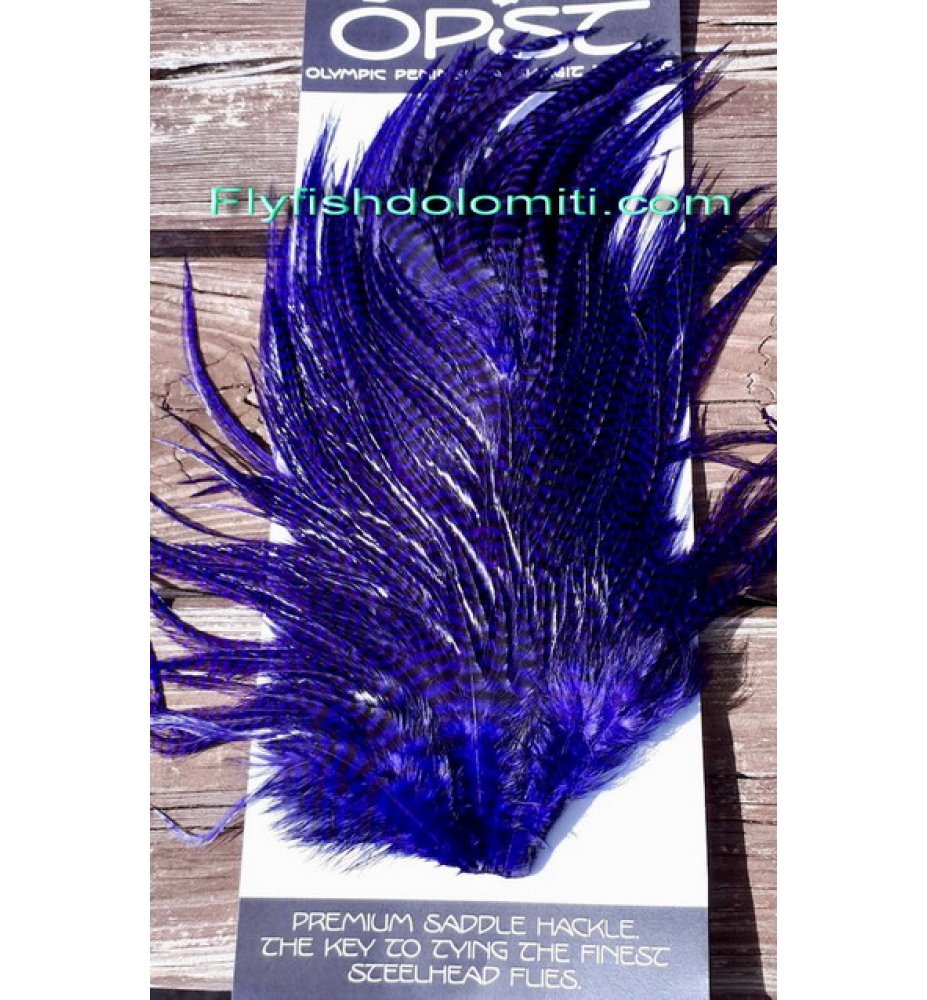 OPST Grizzly Purple Hackle Sella