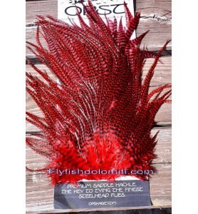 OPST Grizzly Red Hackle Sella