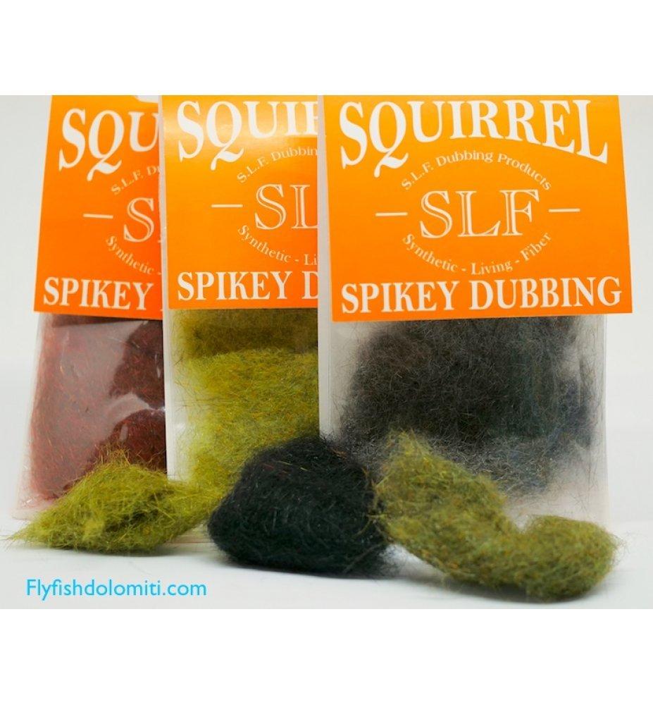 SLF Squirrel Spikey Dubbing