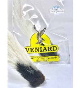 Veniard Calf Tail Natural White