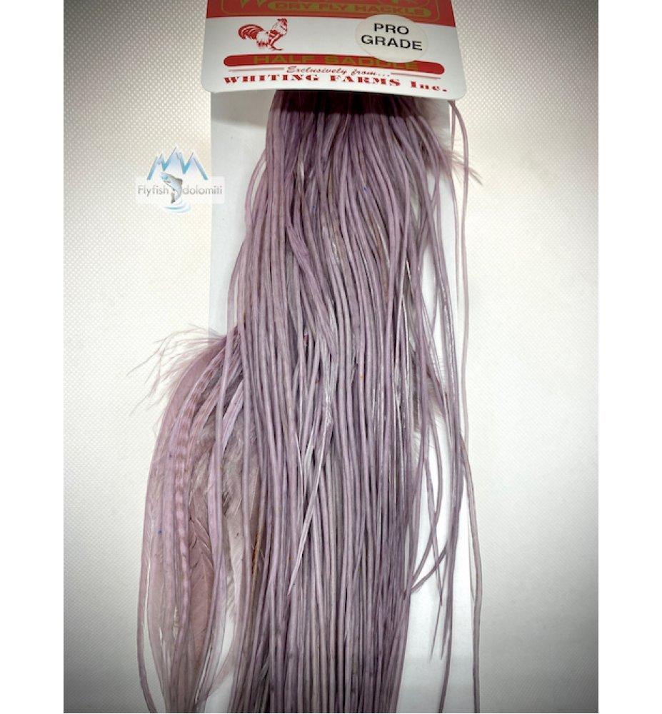 Whiting Pro Grade Saddle dun violet