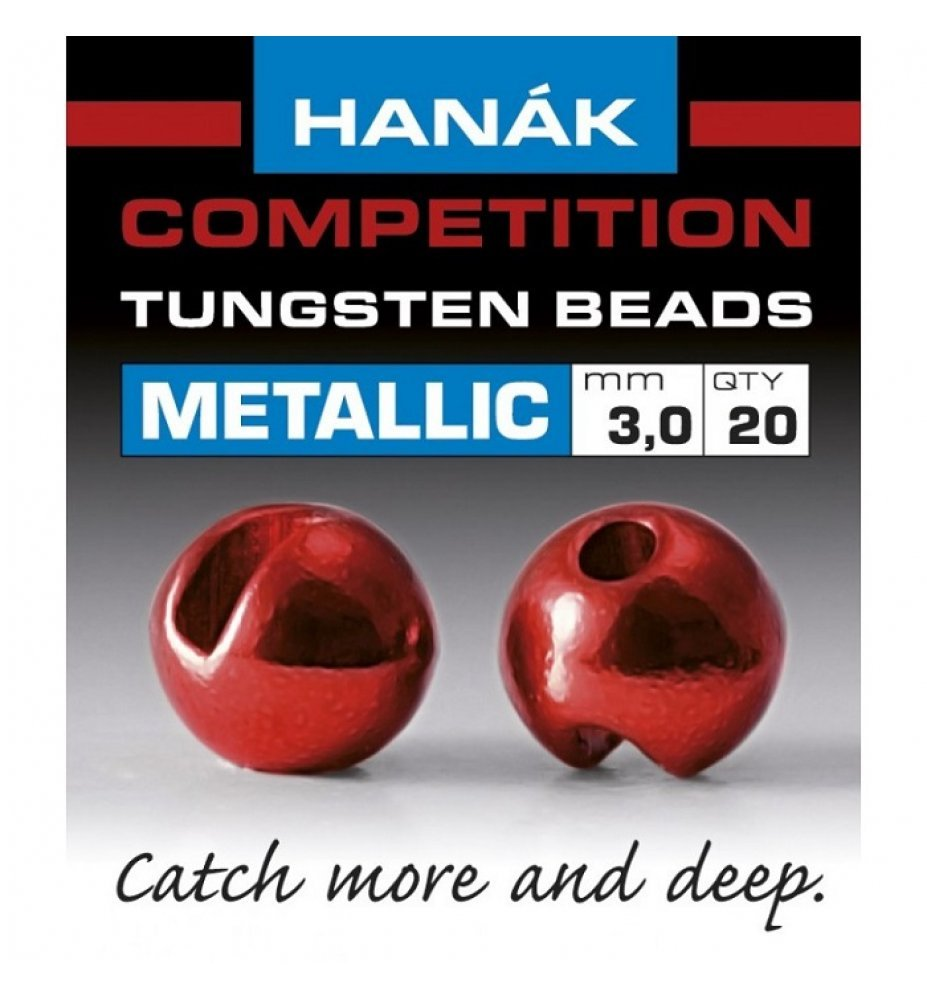 HANAK METALLIC RED