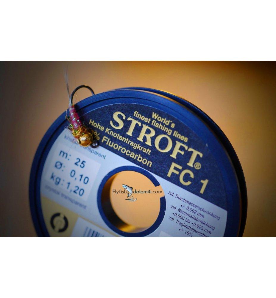 Stroft FC1 Fluorocarbon (bobine da 25m)